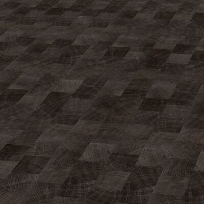 Objectfloor Expona Domestic C13 5843 Dark Endgrain Woodblock